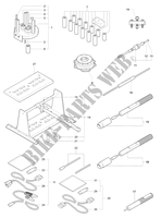 ENGINE MAINTENANCE TOOLS 1 für MV Agusta F4 1000 S 2010