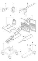 ENGINE MAINTENANCE TOOLS 2 für MV Agusta F4 1000 S 2010