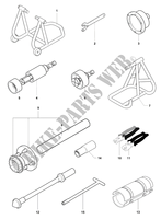 FRAME MAINTENANCE TOOLS 1 für MV Agusta F4 1000 S 2010