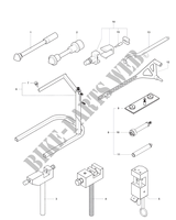 FRAME MAINTENANCE TOOLS 2 für MV Agusta F4 1000 S 2010