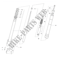 GABEL LINKS für MV Agusta F4 1000 S 2010